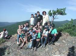 Школьники летнего лагеря эколог м в